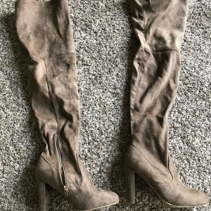 Wild Diva Lounge Slouch high boots 6.5